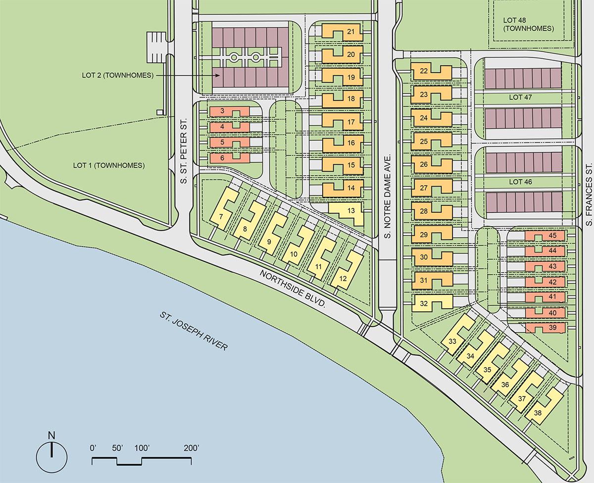 The Village at Riverwalk Site Plan